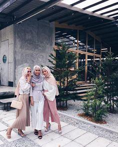 Hijab Fashion | Nuriyah O. Martinez | Haa nampak tak siapa yg paling kuat gosip?#gambarbuktisegalanya