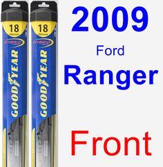 Front Wiper Blade Pack for 2009 Ford Ranger - Hybrid