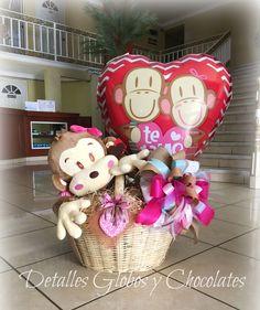 Detalles Globos y Chocolates