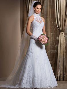 Vestido de noiva modelo: Penélope
