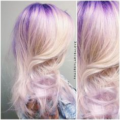 Purple To Silver...This Is Breathtaking | Modern Salon