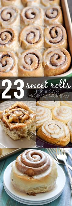 23 Sweet Roll Recipes For A Sweet Christmas Morning