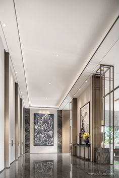 hotel hallway This is our daily lobby design ideas Design Hotel, Hotel Bedroom Design, House Design, Lobby Interior, Room Interior Design, Design Furniture, Interior Ideas, Foyer Design, Decoration Design