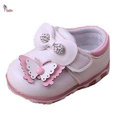 b807d6e779a9a Ohmais Enfants Chaussure Bebe Garcon Fille Premier Pas Chaussure premier  pas bébé Sandale  Amazon.fr  Chaussures et Sacs