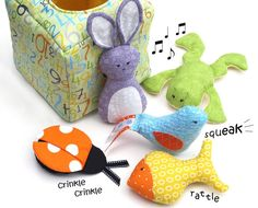 Discovery Box  a put and take toy  Sewing Pattern por patternplay