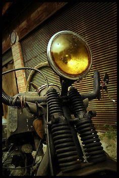"""""""Cyclops"""" Rat Bobber https://www.instagram.com/stylemotorcycles/ https://www.facebook.com/MotorcycleStyles/"""