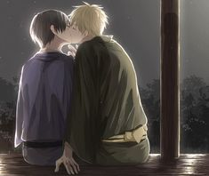 Tags: Axis Powers: Hetalia, Japan, United Kingdom, Pixiv, Pixiv Id 5371030