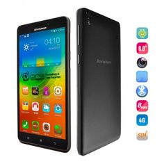 Buy the Lenovo A936 wit 6 Inch screen size, dual micro sim card, 2 GB RAM and 8GB Internal Storage with Android 4.4 OS.