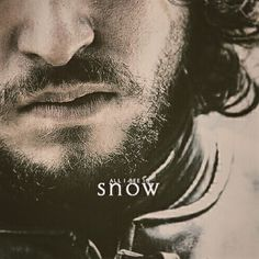 Snow? Yes please . #kitharrington#johnsnow#bastardofwinterfell