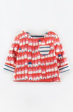 Mini Boden 'Sweet' Reversible Tee (Baby Girls) available at #Nordstrom