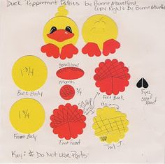 Bonnie's Creative Place: Easter Peppermint Patties Punch Art Treats