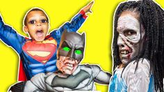 Superman Lets In A Zombie Batman Vs Elsa ZZ Kids TV