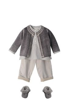 Newborn Outfits | Gender Neutral | Bonpoint | Look 28 | Fall 2015