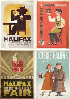 Halifax No.4 Trainglen by Adam Hansel, an American-born artist living in Denmark