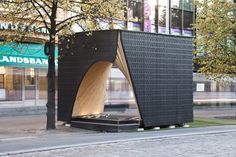 Gallery of Pauhu Pavilion Constructed for Tampere Architecture Week in Finland - 1