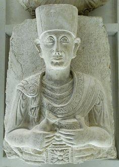 Palmyrenian relief Louvre AO2200 - Parthian art - Wikipedia, the free encyclopedia