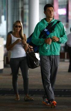 Bernard Tomic and Girlfriend @JugamosTenis #tennis #FueraDeCancha