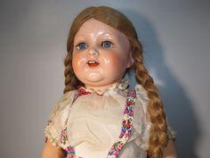 große und alte Kämmer&Reinhardt Puppe Germany 728/9 50/54 antique doll puppet in Antiquitäten & Kunst, Antikspielzeug, Puppen & Zubehör   eBay
