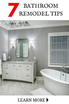 Tips To Properly Designing A Small Bathroom