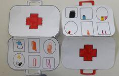Hermes Oran, First Aid Kit, Physics, Kindergarten, Initials, Activities, Manualidades, Survival First Aid Kit, Diy First Aid Kit