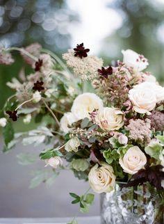 Elegant Green, White, and Mauve Wedding Ideas