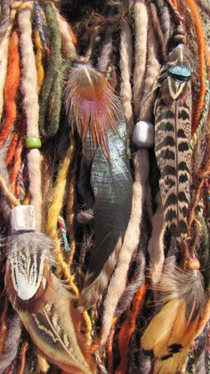 Dread Fall Primal by CinagroFarm on Etsy, $42.50