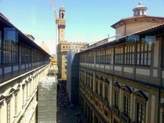 En la Galleria de los Uffici
