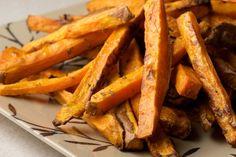 Rosemary Garlic Sweet Potato Fries and Blue Cheese Dressing