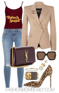 Summer 2017 Style Inspiration: 5 Black Girls Rock Inspired Outfit Ideas Source by gmarbur idea black girl Black Girl Fashion, Look Fashion, Trendy Fashion, Autumn Fashion, Womens Fashion, Classy Outfits, Stylish Outfits, Fashion 2017, Fashion Outfits