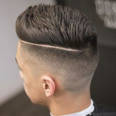 nice 35 Modern Hard Part Haircut Ideas - Choose Yours Check more at http://machohairstyles.com/modern-hard-part-haircut-ideas/
