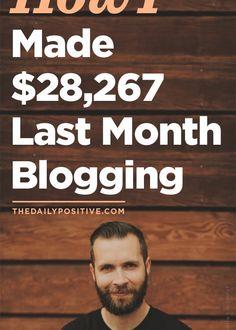 Dale Partridge - Blogging Income Reports
