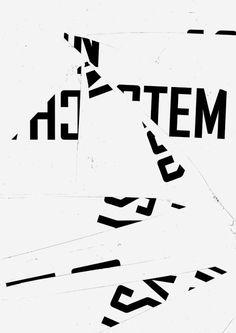 Ulrike Brückner / Chaos im System / Graphics / 2013 Graphic Design Posters, Graphic Design Typography, Graphic Design Illustration, Gig Poster, Typography Inspiration, Graphic Design Inspiration, Book Design, Design Art, Logo Typo