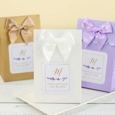 lavender candy bags