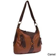 Bueno 'Orena' Hobo Bag | Overstock.com Shopping - The Best Deals on Hobo Bags