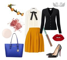 """""""Autumn Office"""" by magdamarcella on Polyvore featuring Dolce&Gabbana and Essie"""