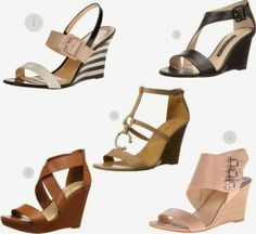 Women's Top 10 Sandal Trends for 2014 {and How to Wear Them}  - Dressy Wedge Sandals