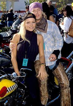 Pamela Anderson and Bret Michaels