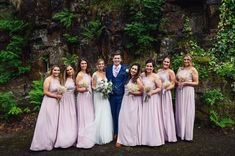 Another great photo from Jess with all her bridesmaids!