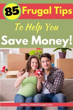Start saving money and get out of debt by implementing some or all of these 85 frugal tips.  There are some many frugal living hacks here and some are obvious and others...not so much!  Super easy money saving tips that can help you to stop living paycheck to paycheck! #frugallivingtips #savingmoney #moneysavingtips #waystosavemoney Ways To Save Money, Money Saving Tips, How To Make Money, Frugal Living Tips, Frugal Tips, Get Out Of Debt, Budgeting Tips, Personal Finance, Super Easy