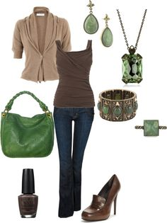 """""""evergreen"""" by cami-woods-aley ❤ liked on Polyvore"""