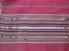 Hand-woven blanket from Peru