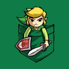 Check out this awesome 'POCKET+LINK' design on @TeePublic!