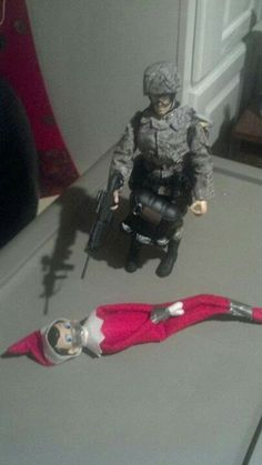 Elf on the shelf hahha not funny