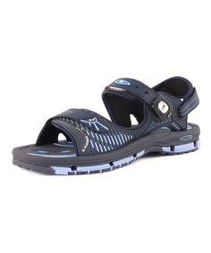 Navy Blue Convertible Sandal - Men