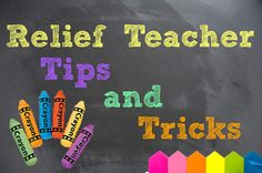 Casual/Relief Teaching Tips