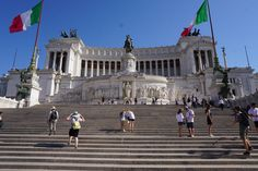 The Altare della Patria, also known as the Monumento Nazionale a Vittorio Emanuele II or Il Vittoriano, is a monument built in honour of Victor Emmanuel, the first king of a unified Italy, located in Rome, Italy. It occupies a site between the Piazza Venezia and the Capitoline Hill.