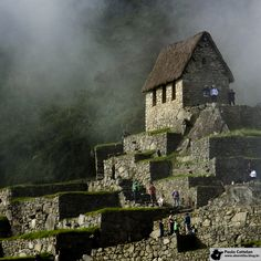 A casa do vigia, em Machu Picchu / The keeper house at Machu Picchu