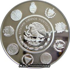 $ 5 Pesos Viii Serie Iberoamericana Monedas Historicas