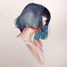 hair drawing 11