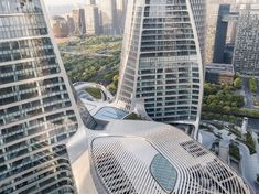 Raffles City Hangzhou by UNStudio   Office buildings
